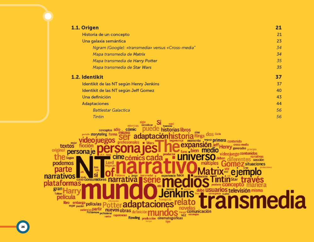 Narrativas transmedia. El libro. (2/5)