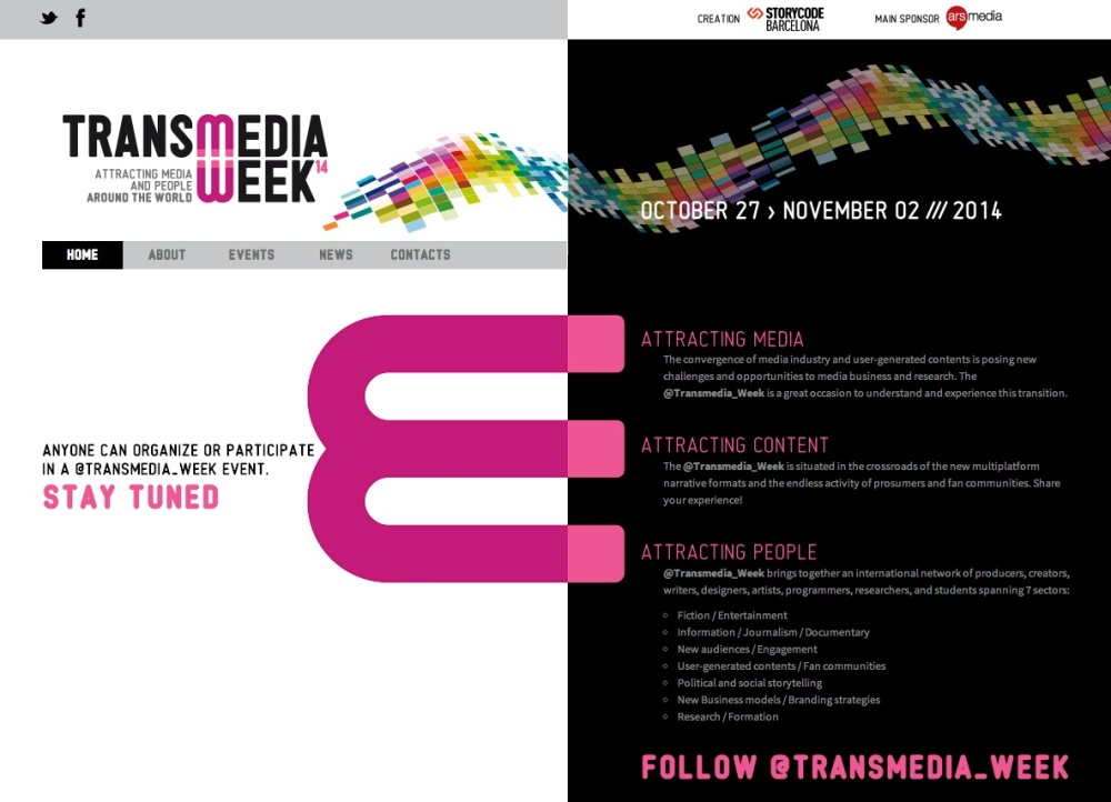 @Transmedia_Week: un primer balance. (1/2)